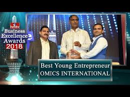 Best Young Entrepreneur Business Excellence Award