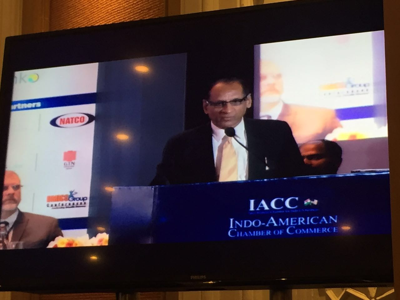 2016 Governor-AP,TS at Indo American Chamber of Commerce IACC