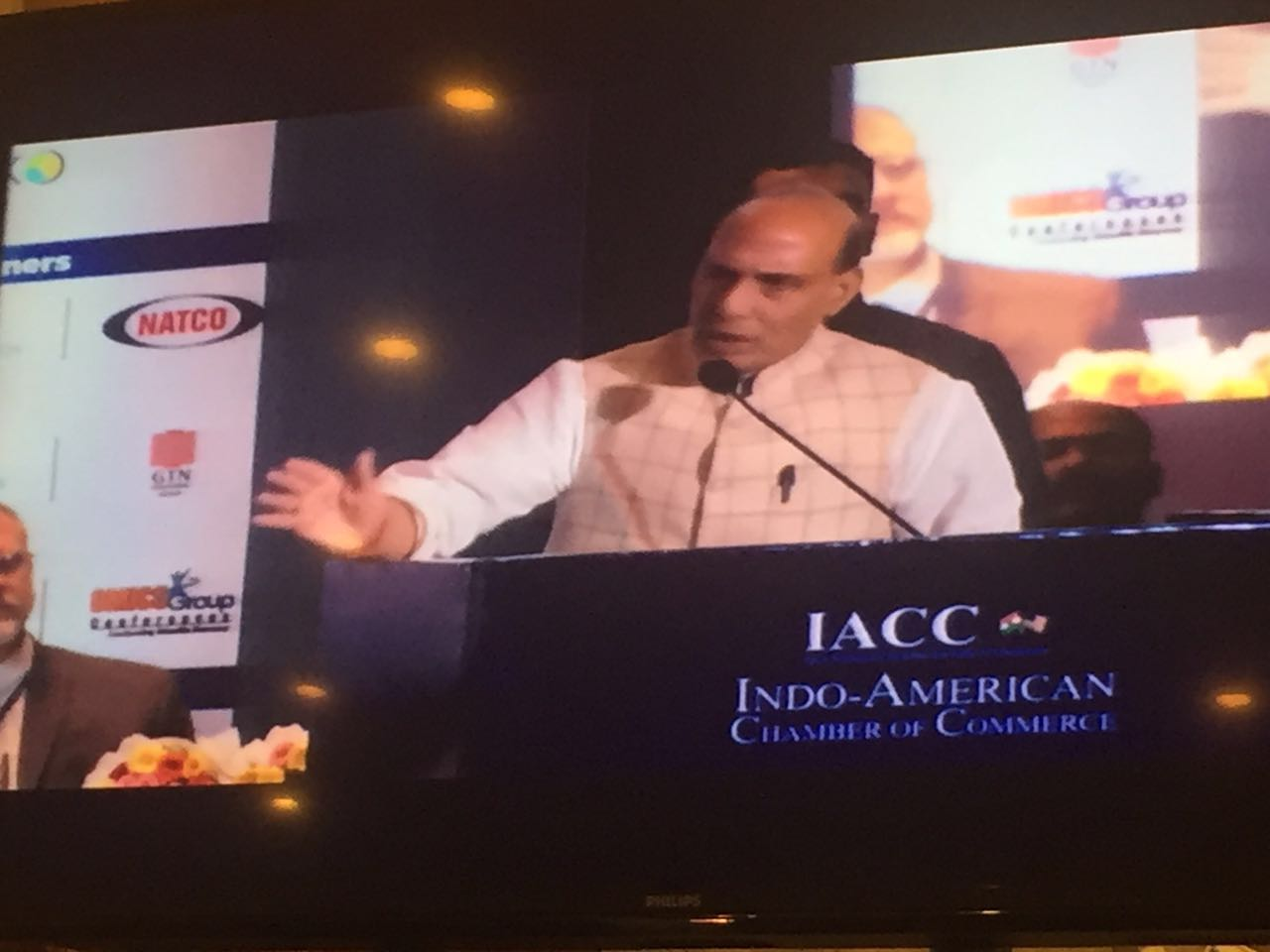 2016 Home-Minister Rajanth Singh at IndoAmerican Chamber of Commerce