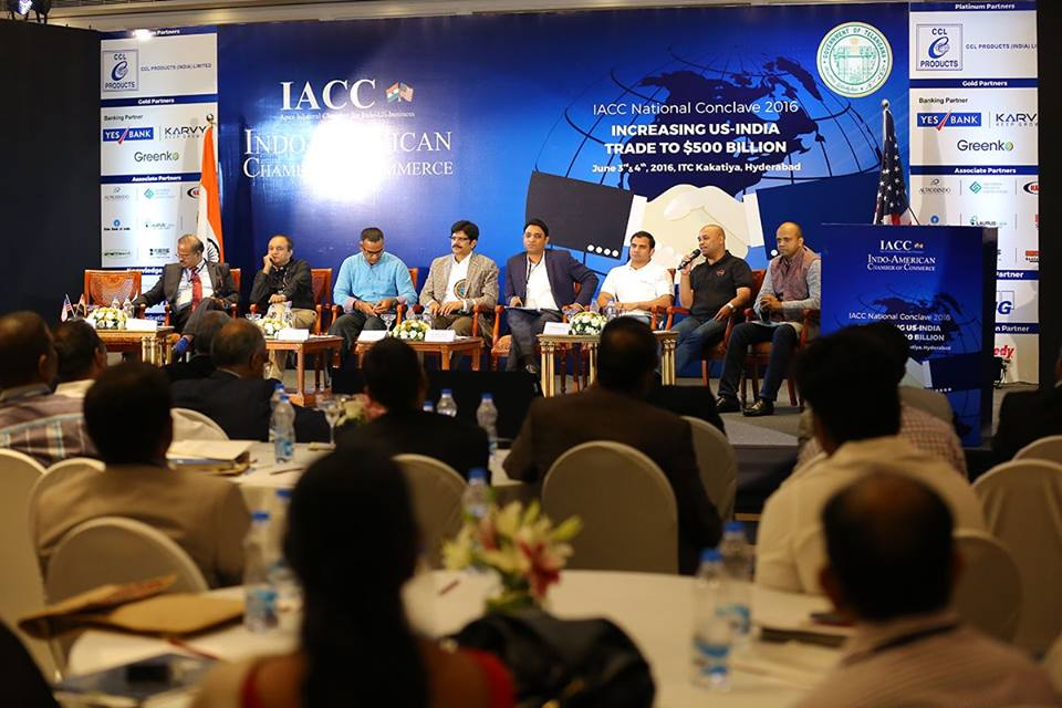 2016 Panel AP,TS at Indo American Chamber of Commerce